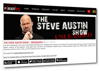 Info on THE STEVE AUSTIN SHOW - UNLEASHED!